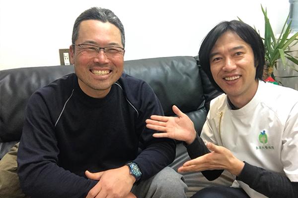 酒見 健吾さん 男性 40代 土木作業員の写真